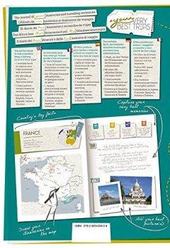 Livres Couvertures de Your Very Best Trips - Album de Vos Souvenirs et Itinéraires de Voyages (grand format A4 296 pages)