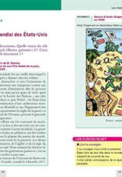 Livres Couvertures de Annales Annabac 2019 Histoire-Géographie Tle S: sujets et corrigés du bac Terminale S