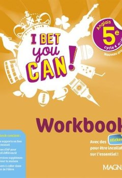 Livres Couvertures de Anglais 5e I bet you can! : Workbook