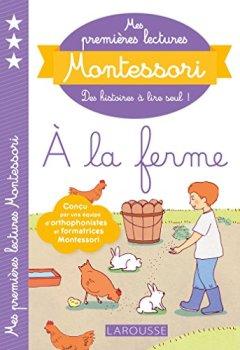 Livres Couvertures de Mes premières lectures Montessori, à la ferme
