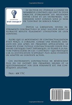 Livres Couvertures de Le contrat de service public: Les monographies du droit de l'énergie