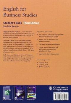Livres Couvertures de English for Business Studies Student's Book: A Course for Business Studies and Economics Students