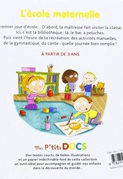 Livres Couvertures de L'école maternelle