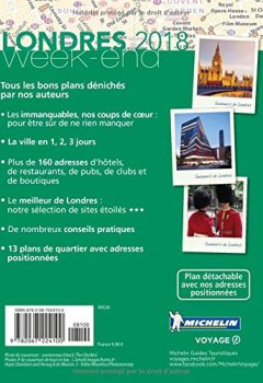 Livres Couvertures de Guide Vert Week-End Londres Michelin