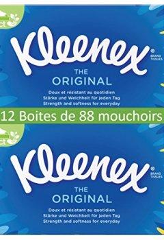Livres Couvertures de Kleenex Original Mouchoirs 6 Boîtes de 88 - Lot de 2