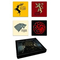 Dark Horse Deluxe Game of Thrones Coaster Set