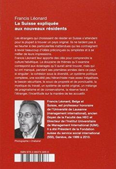 Livres Couvertures de La Suisse expliquée aux nouveaux résidents