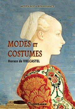 Livres Couvertures de Modes et Costumes