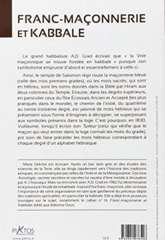 Livres Couvertures de Franc-Maçonnerie et Kabbale