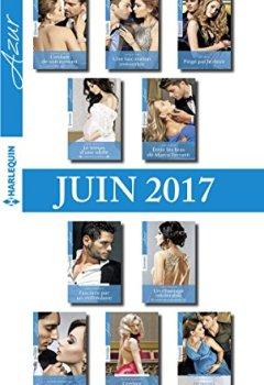 Livres Couvertures de 10 romans Azur + 1 gratuit (nº3835 à 3844 - juin 2017)