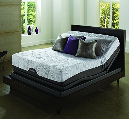 Serta icomfort savant plush everfeel mattress with low California king box spring