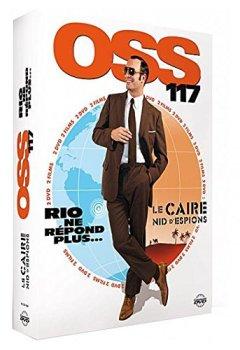 Livres Couvertures de Coffret OSS 117- Le Caire, nid d'espions + OSS 117- Rio ne répond plus