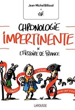 Livres Couvertures de CHRONOLOGIE IMPERTINENTE DE L HISTOIRE FRANCE