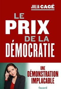Livres Couvertures de Le prix de la démocratie