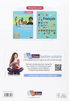 Livres Couvertures de Cahier de français 2de