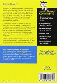 Livres Couvertures de La Psychologie positive pour les Nuls