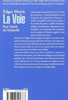 Livres Couvertures de La Voie: Pour l'avenir de l'humanité