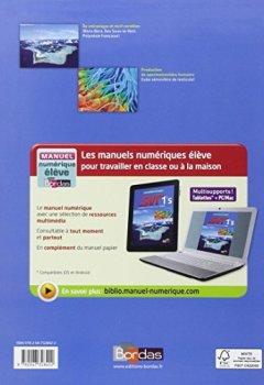 Livres Couvertures de Lizeaux - Baude 1re S • Manuel de l'élève Petit Format (Éd. 2011)