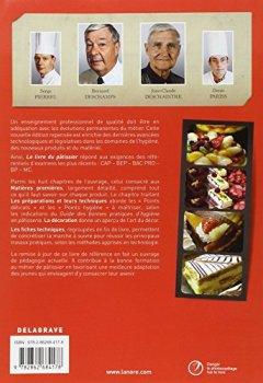 Livres Couvertures de Le livre du pâtissier
