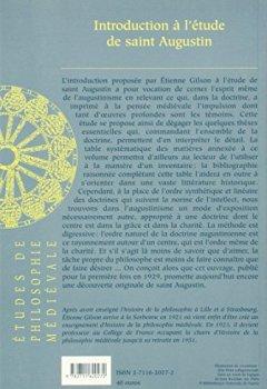 Livres Couvertures de Introduction à l'étude de saint Augustin