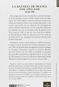 Livres Couvertures de La Bataille de France jour après jour