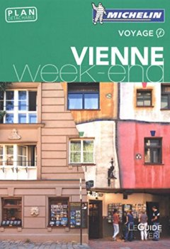 Livres Couvertures de Guide Vert Week-End Vienne Michelin