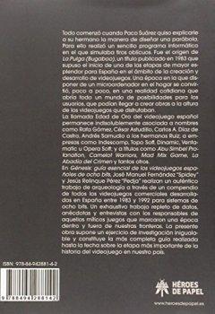 Portada del libro deGénesis: Guía esencial de los videojuegos españoles de 8bits