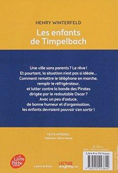 Livres Couvertures de Les enfants de Timpelbach