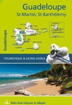 Livres Couvertures de Guadeloupe, Saint Martin, Saint Barthélémy : 1/80 000