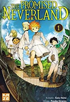 Livres Couvertures de The Promised Neverland, tome 1