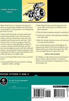Livres Couvertures de Python Crash Course