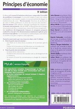 Livres Couvertures de Principes d'économie 9e édition : Livre + eText + MyLab | version française Licence étudiant 24 mois