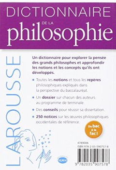 Telecharger Dictionnaire de philosophie de Thierry Paquot