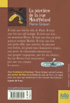 Livres Couvertures de La sorcière de la rue Mouffetard et autres contes de la rue Broca