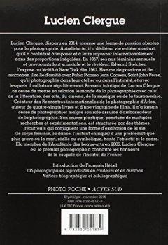 Livres Couvertures de Lucien Clergue