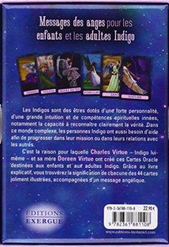 Livres Couvertures de L'ange Indigo : Avec 44 cartes Oracle