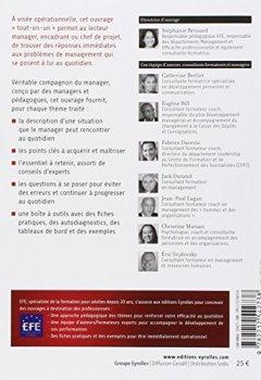 Livres Couvertures de Manager au quotidien : Les attitudes et comportements du manager efficace