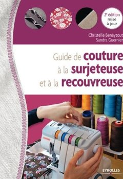 Livres Couvertures de Guide de couture à la surjeteuse et à la recouvreuse