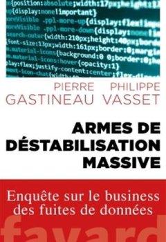 Livres Couvertures de Armes de déstabilisation massive