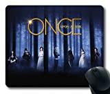 Custom Gaming Mouse Pad with Wallpaper Once Upon A Time Drama Poster Non-Slip Neoprene Rubber Standard Size 9 Inch(220mm) X 7 Inch(180mm) X 1/8 Inch(3mm) Desktop Mousepad Laptop Mousepads Comfortable Computer Mouse Mat