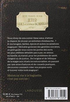 Livres Couvertures de Petit Manuel pour jeter des (gentils) sorts !