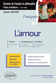 Livres Couvertures de Thème et les trois oeuvres. Epreuve de français/philo. Prépas scientifiques 2019-2020