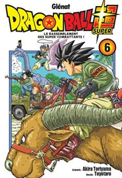 Livres Couvertures de Dragon Ball Super - Tome 06