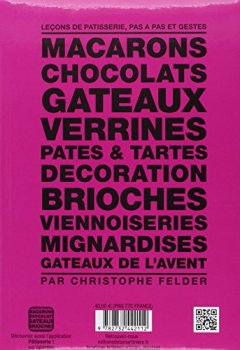 Livres Couvertures de Pâtisserie, l'ultime référence. 210 recettes, 3200 photos