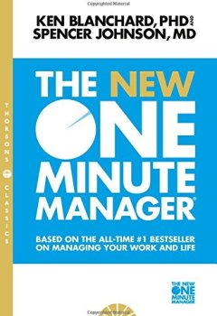 Livres Couvertures de New One Minute Manager: Based on the All-Time #1 Bestseller on Managing Your Work and Life