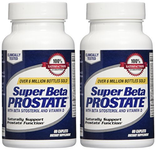 New Vitality Super Beta Prostate Caplets 60 ea (2 Pack)