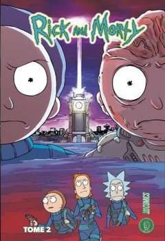 Livres Couvertures de Rick and Morty, T2