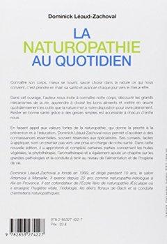 Livres Couvertures de La naturopathie au quotidien : Comment rester en bonne santé grâce à des gestes simples