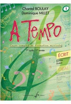 Livres Couvertures de A Tempo - Partie Ecrite - Volume 1