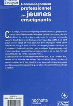 Livres Couvertures de L'accompagnement professionnel des jeunes enseignants
